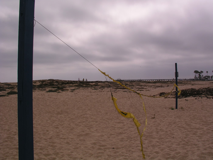 Newport Beach Volleyball Net