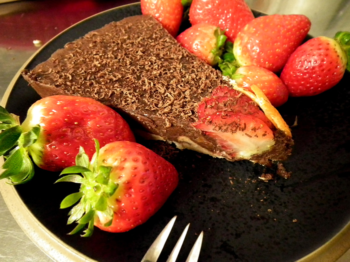 Raw Choco Orange Buttercake