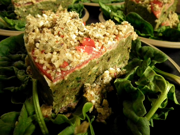 Ms. Pursburry's Exquisite Raw Quiche Pie