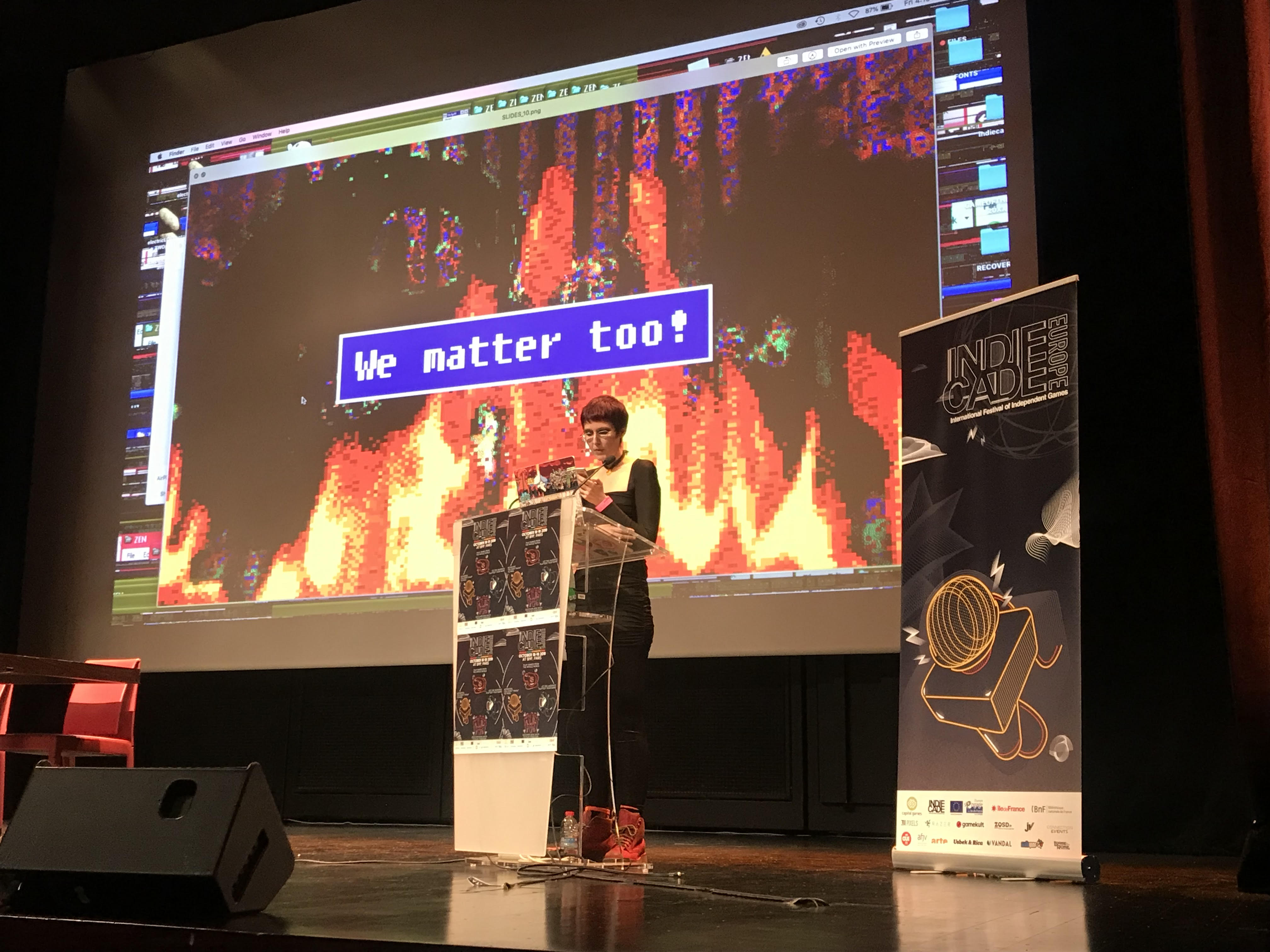 IndieCade Europe Keynote: Addressing abuse in our communities and how can we move forward (full transcript)