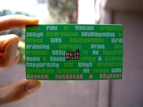 Card back side