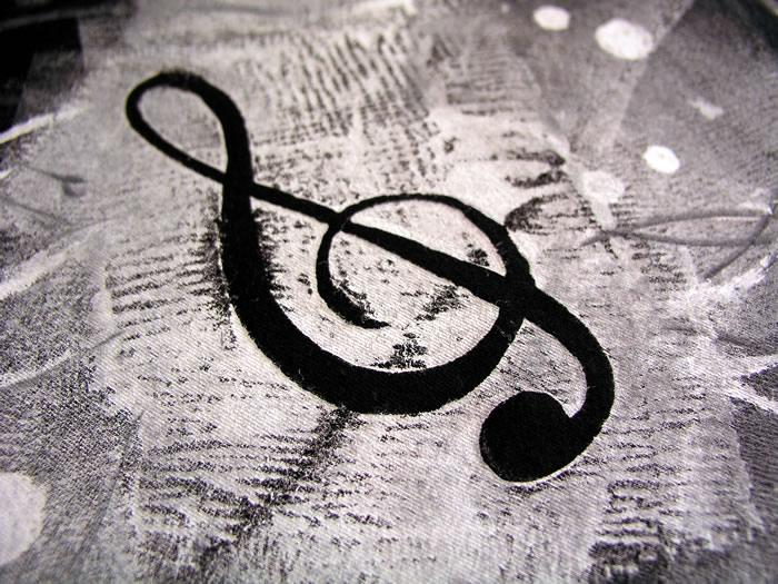 The music stencil
