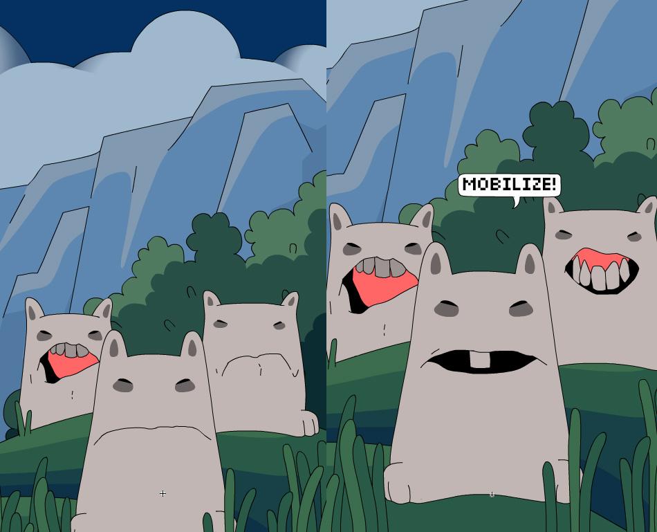 Tetrageddon - Bunny Mob