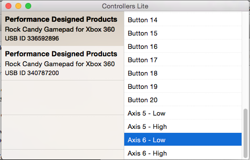 Getting Multiple XBox 360 Controllers Working On A Mac (OS X